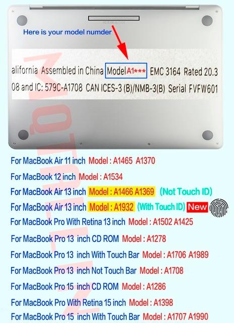 Matte Laptop Case For Apple Macbook Pro Retina Air 5