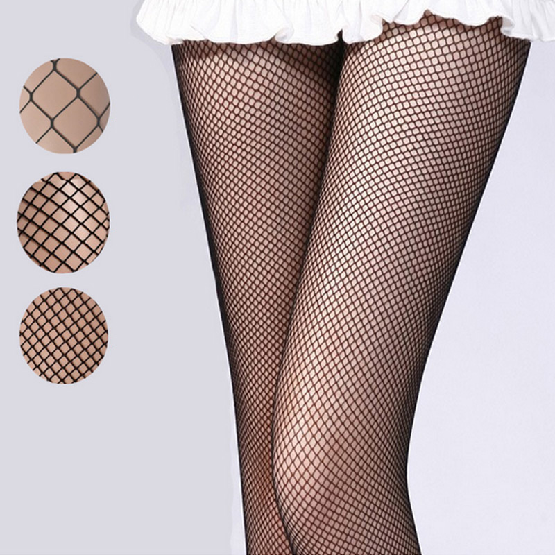 Sexy Women Mesh Fishnet Pantyhose Spring Summer Slim Holes Tights Stockings Party Club Hosiery H9