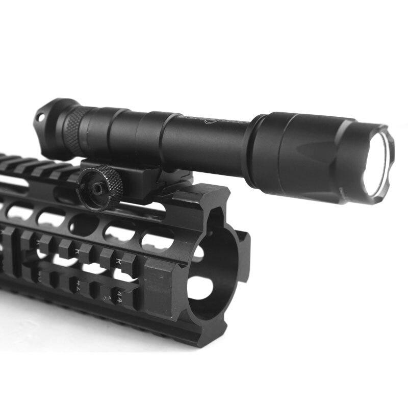 airsoft tatico tocha arma luzes caber 20mm ferroviario frete gratis 05