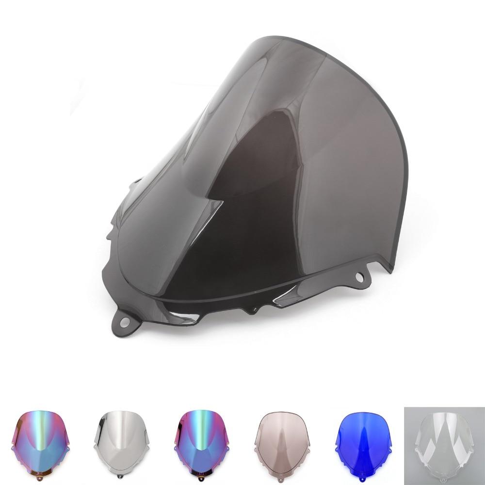 areyourshop 7 colors for suzuki gsx 600 750 f katana motorcycle windshield windscreen double. Black Bedroom Furniture Sets. Home Design Ideas