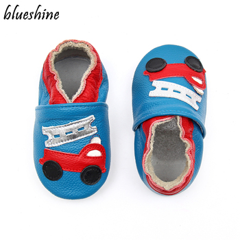 100% Genuine Leather Baby Girls Moccasins Crib Shoes Soft Moccs Baby Boys Shoes Newborn Prewalker Infant Shoes