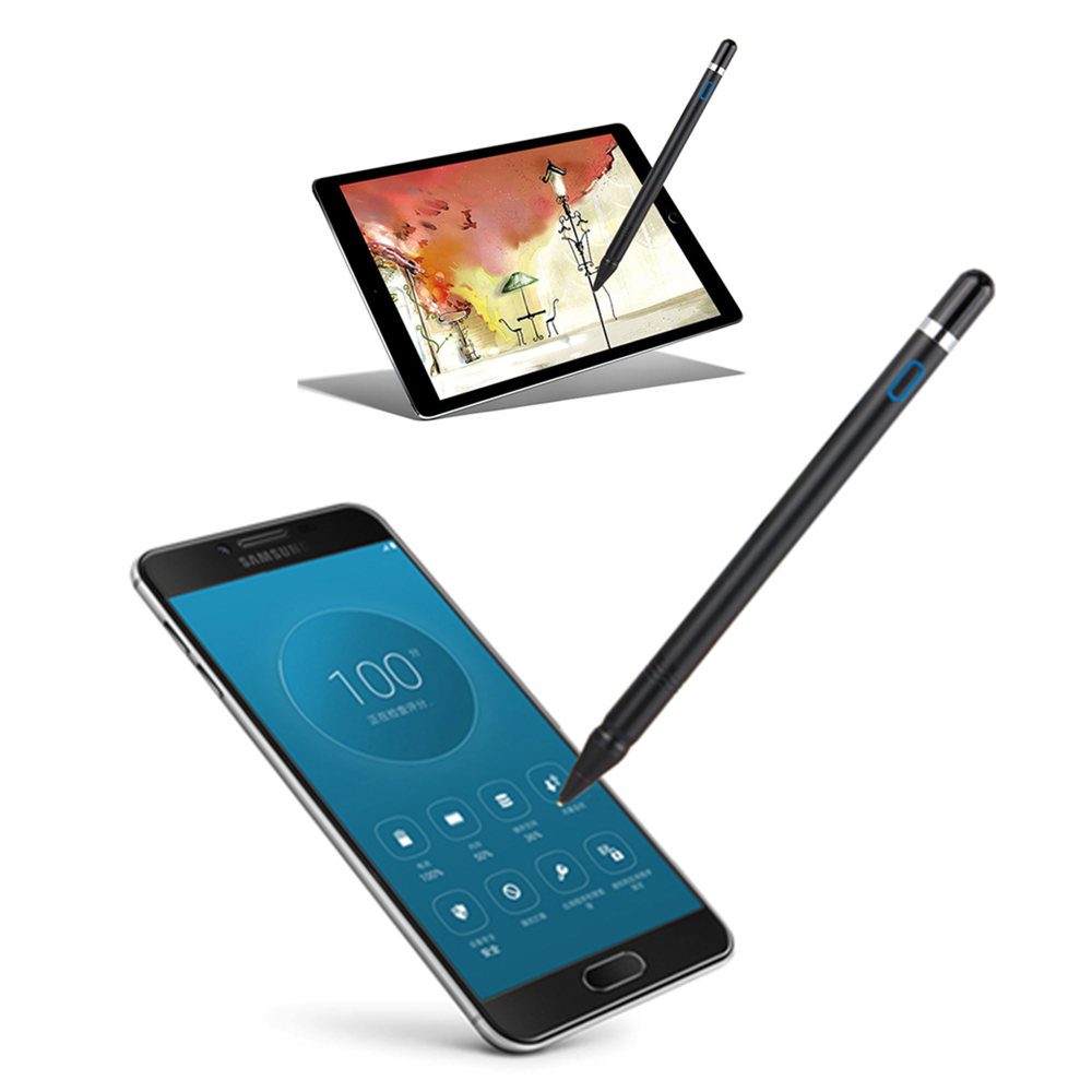 Active Stylus Digital Touch Pen NIB 1.3mm Ultra Fine Tip For IPad HUAWEI Tablets Work At IOS And Android Capacitive Touch Screen