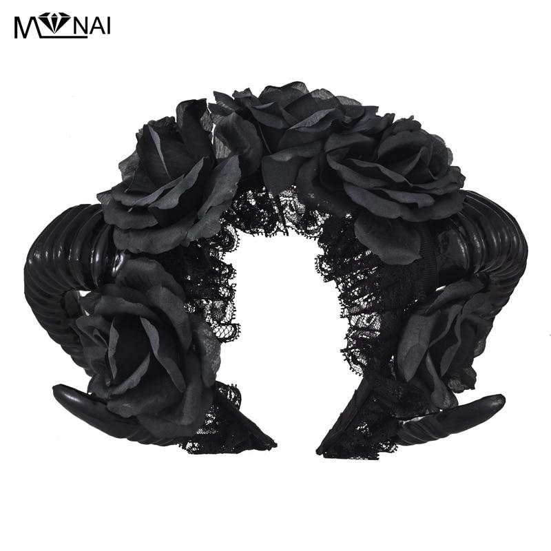 Χειροποίητα Μαύρα Μάγισσες Vamp - Καρναβάλι κοστούμια - Φωτογραφία 1