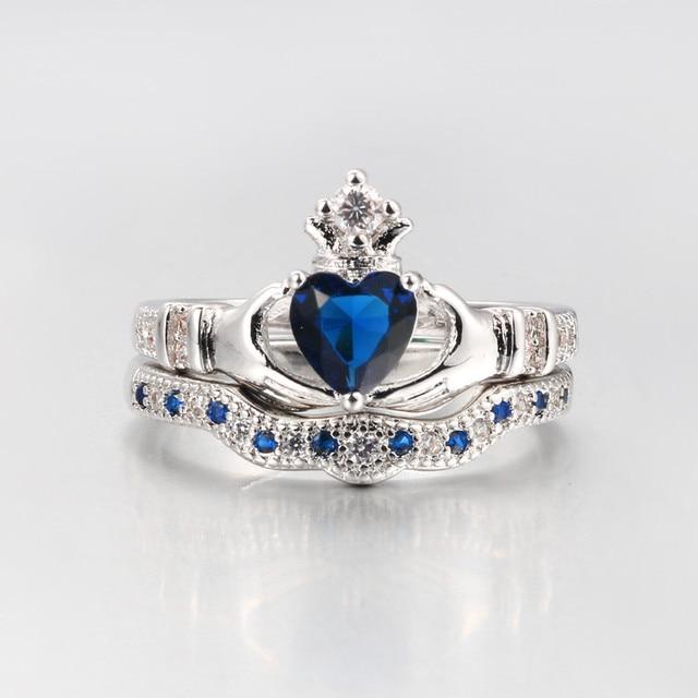 Claddagh Rings Anillos 2018 Love Crown Hand Heart Clah-Duh 2