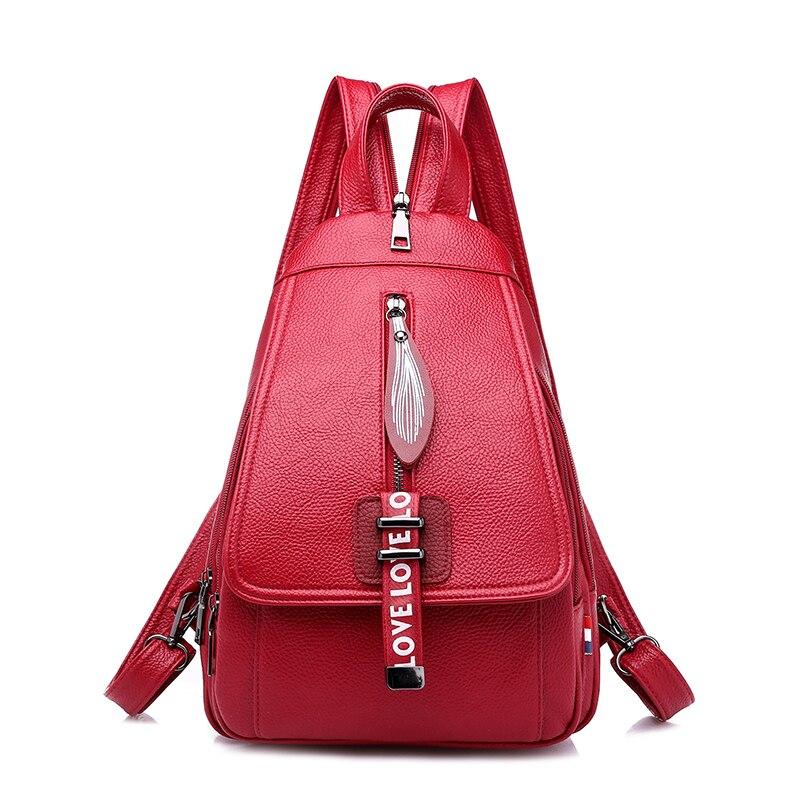 Women Backpack Purse PU Leather Fashion Travel Casual Crossbody Ladies Shoulder Bag Escolar