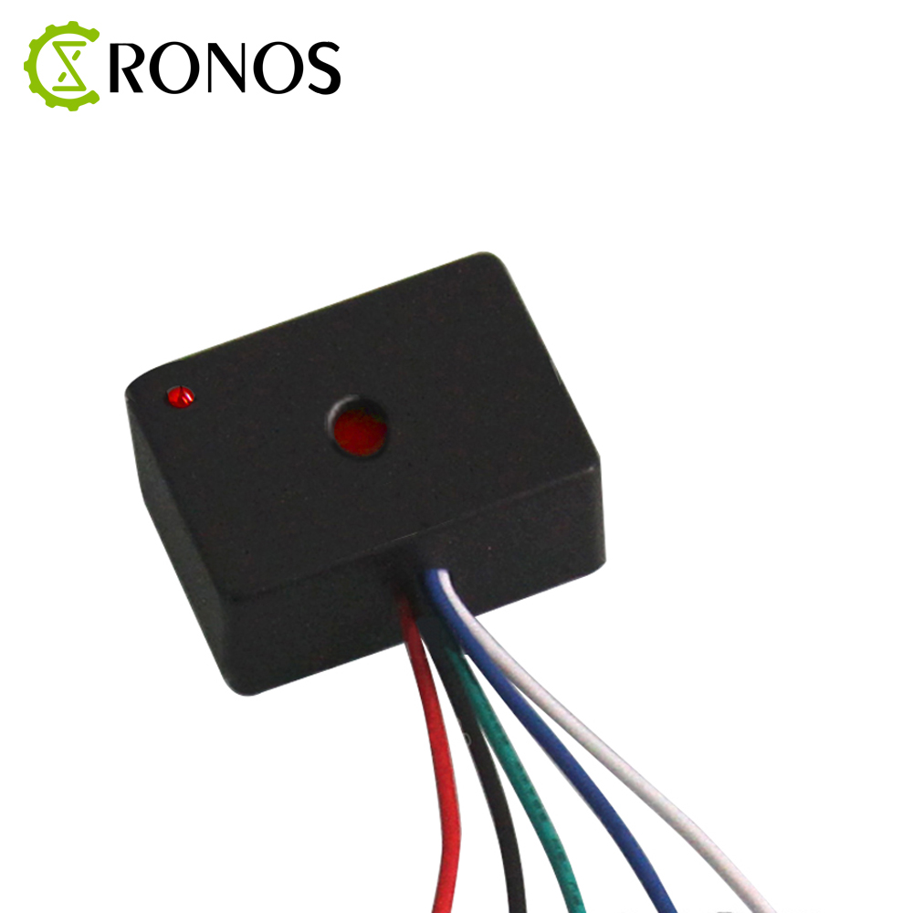 Laser Receiver Sensing Controller 5 Wire System Of Relay Laser Receiver Module 5V -12V Can Supply Power
