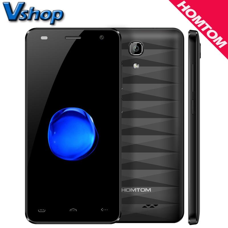 Original HOMTOM HT26 4G Mobile Phones Android 7.0 1GB RAM 8GB ROM Quad Core Smartphone 8MP Camera 4.5 inch Dual SIM Cell Phone