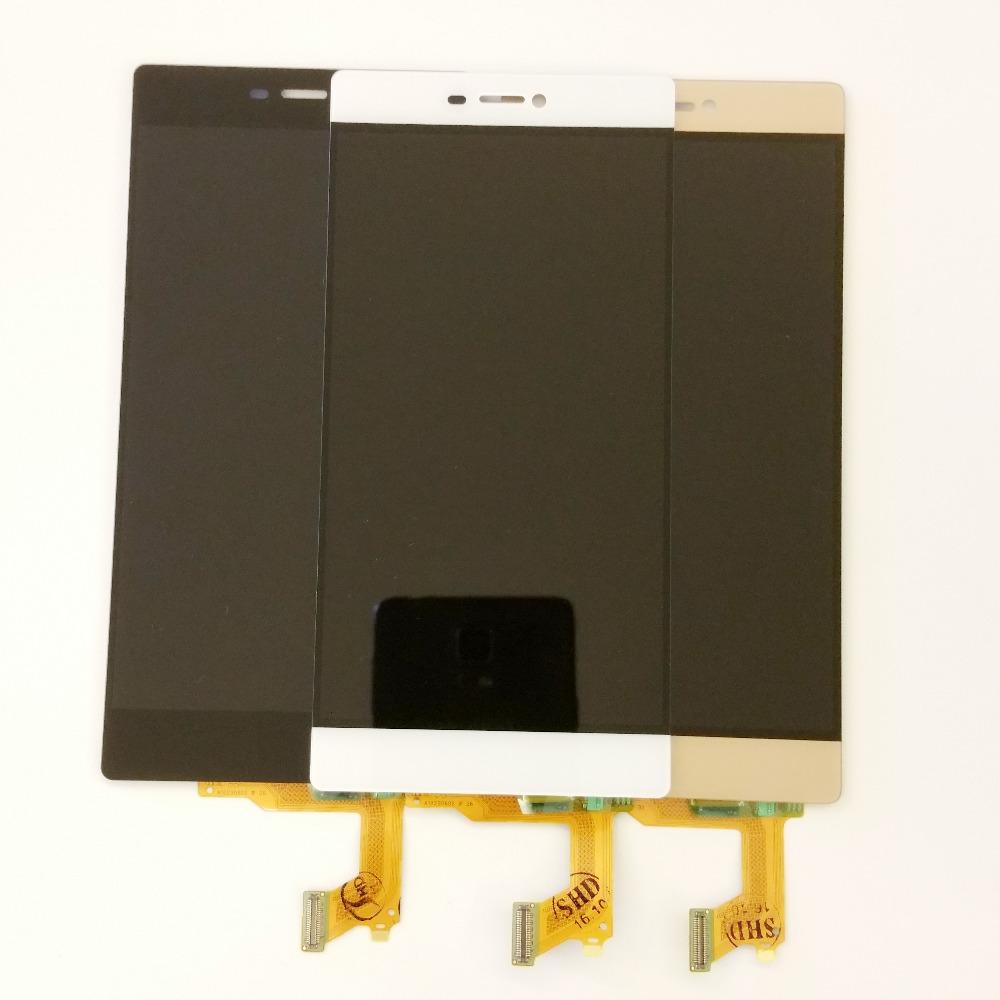 Prix pour Haute Qualité Blanc Or Noir Pour Huawei P8 Écran lcd Avec Écran Tactile Digitizer GRA-L09 GRA-UL00 GRA-UL10