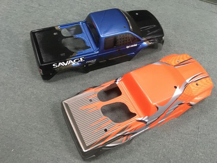 1/8 Scale RC HPI Savage Flux Monster Truck Body Fits HSP Redcat LOSI HOBAO HRAXXAS 94762-in Parts & Accessories from Toys & Hobbies    3
