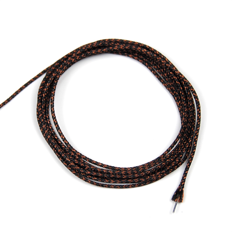 [2m/pack] 12KG Carp Fishing Braided Lead Line for Rig Making Brown Green Color Terminal Tackle Lead Core Rig L