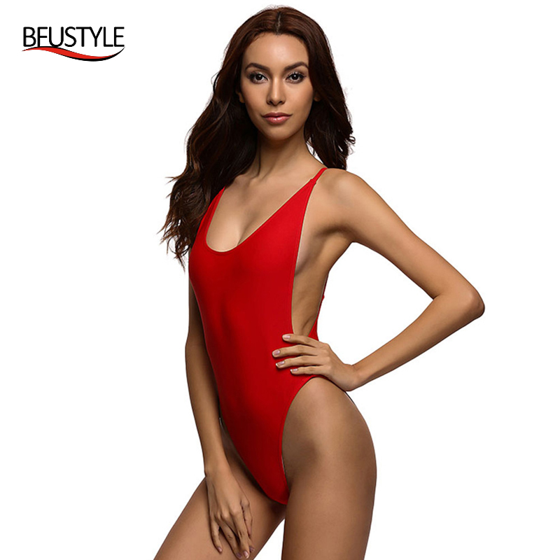 Sexy Womens Swimwear Bodysuit Summer One Piece Swimsuit Backless Women Swim Suit Plus Size Jumpsuit Cheap bather Beach Wear one piece swimsuit cheap sexy bathing suits may beach girls plus size swimwear 2017 new korean shiny lace halter badpakken