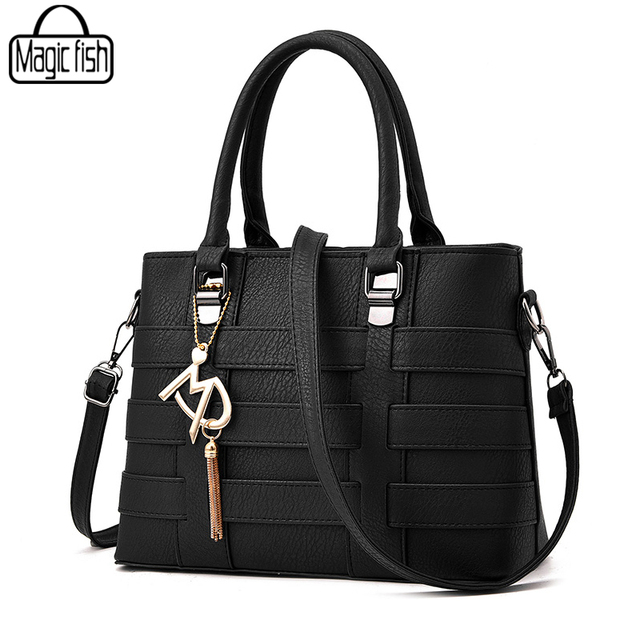 2cf1ad56fc52 Elegant PU Leather Women Handbag Good Quality Women Shoulder Bag Classy  Female Leather Handbags Tote Female