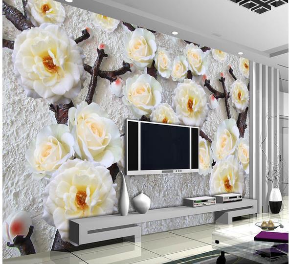 Фото обои 3д на стену цветы цена купить купить цветы в коробках