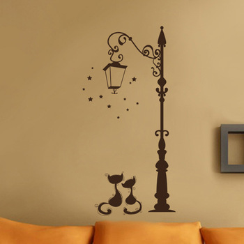 Cute Cat Fashion Lamp Post 1