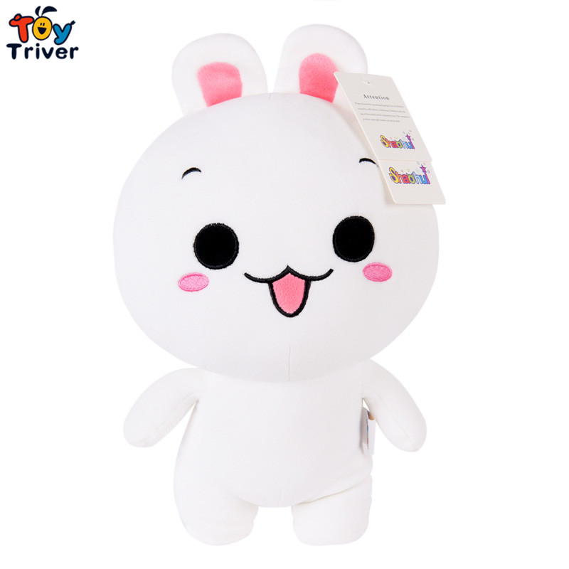 Cute kawaii plush rabbit toys doll stuffed animal birthday christmas party gift present for baby kids children friend Triver Toy 1 piece 13 8 35cm 2015 new design pink hat my melody cute rabbit stuffed plush toys doll kid s birthday gift