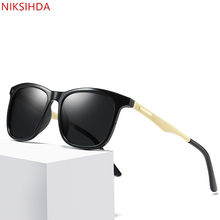 NIKSIHDA  2019 New style men and women fashion personality sunglasses box color film street shots cool Sunglasses