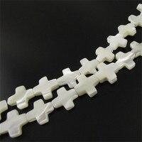 Blanc Shell Matériel Traverse La Fabrication De Bijoux Perles Fit Bracelets Collier En Gros Prix Graceangie Perles 34563-030E