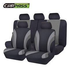 سيارة تمرير السيارات العالمي سبعة اللون غطاء مقعد السيارة سيارة التصميم غطاء مقعد s صالح الداخلية اكسسوارات مقعد الديكور