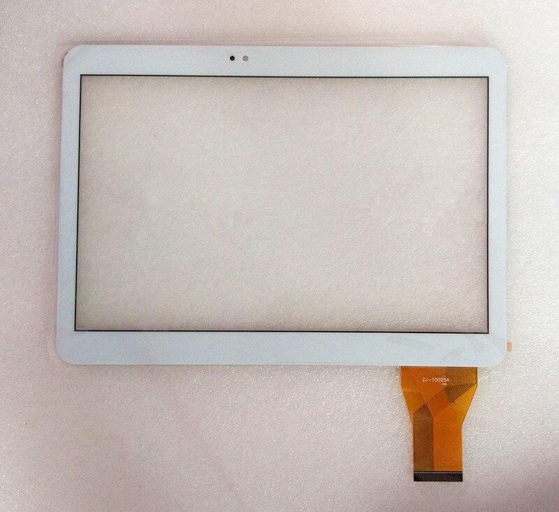 Bilgisayar ve Ofis'ten Tablet LCD'ler ve Paneller'de A + 10.1 inç ZJ 10025A YCG C10.1 0182E FPC 02 dokunmatik ekran digitizer cam sensör yedeği title=