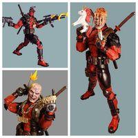 45 см NECA 1/4 масштаб конечной боевик Дэдпул фигурки Marvel Герой Дэдпул ПВХ Коллекционная Фигурка модель игрушки
