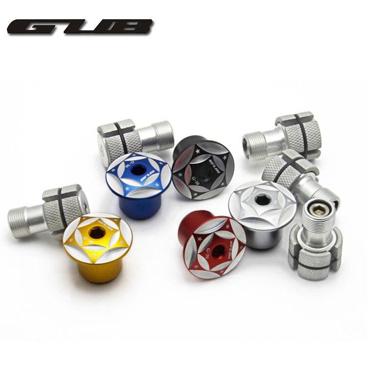 """1pcs GUB CNC Headset Expander Plug Inter 24mm Stem Top Cap Compressor 1-1/8\"""" 28.6mm Steerer Plug For MTB Road Bike Carbon <font><b>Fork</b></font>"""
