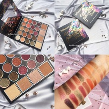 24 Color Rainbow Highlighter Palette Shimmer Matte Eyeshadow Pallete Pigment Eyeshadow Palette Makeup Palette Cosmetic цена