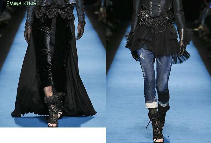 Sangles As Picture Sandales Dames Ouvert Diamant Femmes À Bout Zapatos Mujer Noir Hauts Chaussures De Luxe Dentelle Talons aRfRxzT