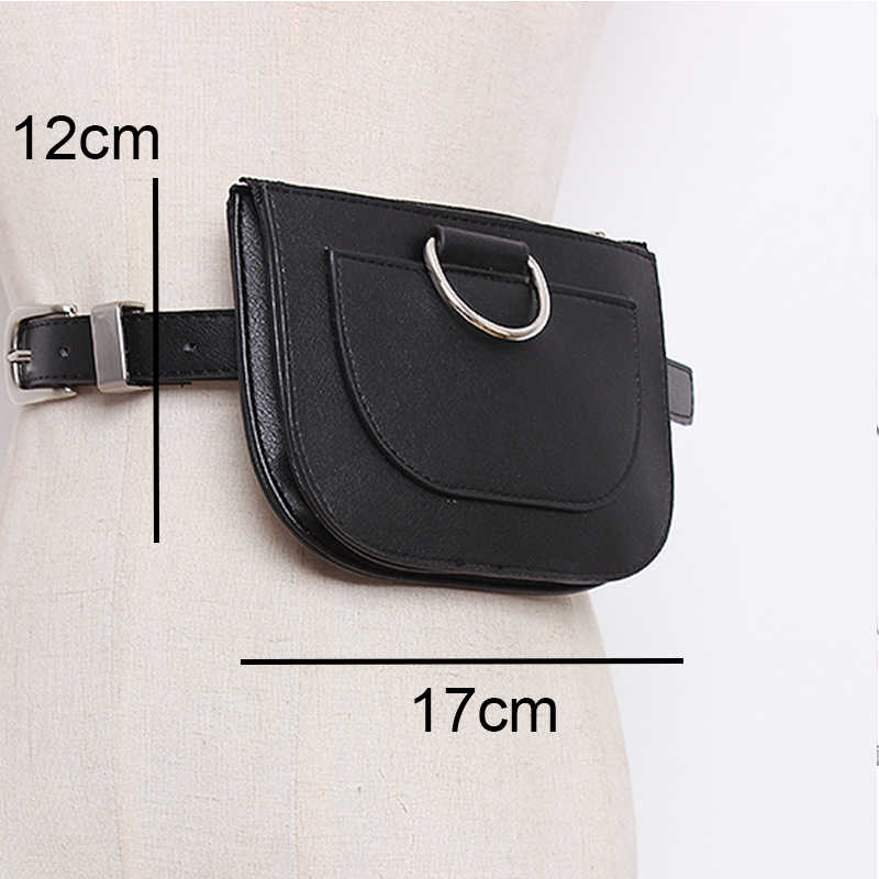 Mochila de cintura de mujer daunavía Paquete de riñonera de cuero de Pu bolsa de pecho de piel de serpiente de moda femenina bolso de alta calidad
