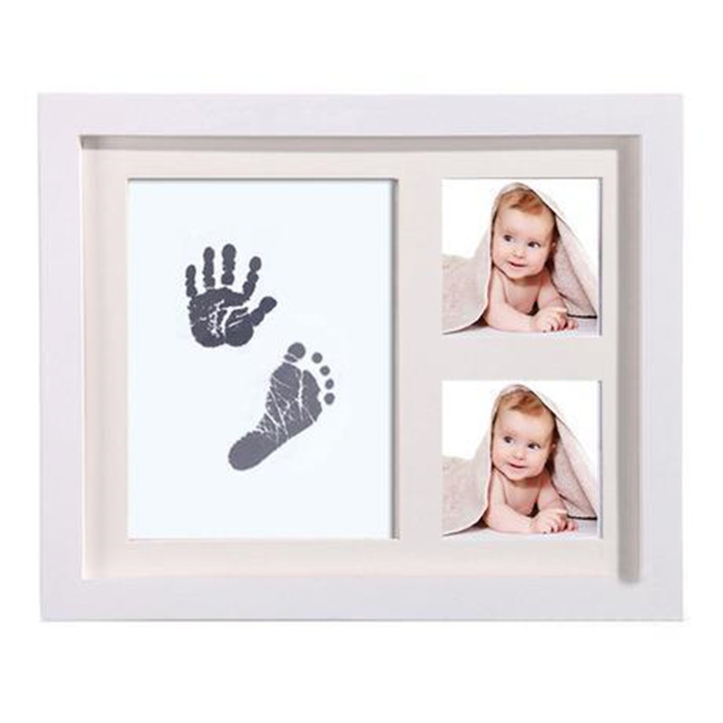 Baby Hand And Foot Print For Baby Photo Frame Baby Handprint Mud And Footprint Baby Souvenirs Baby Items For Newborns Mold