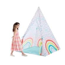 Tente de jeu arc-en-ciel, jouet Portable et pliable pour enfants