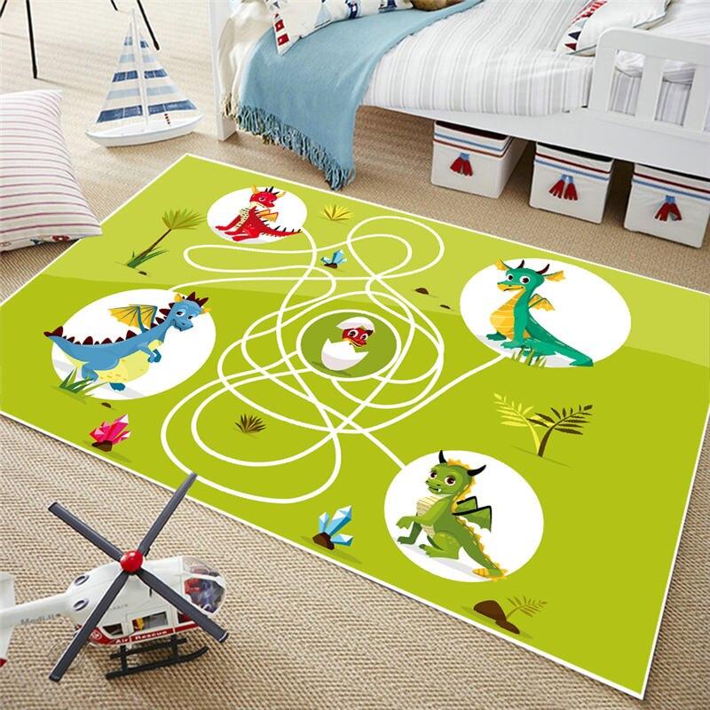 Jcc Short Fur Chess Play Mat Kids Rugs Carpet For Children Living Room Bedroom 40x60cm 60x90cm 120x160cm