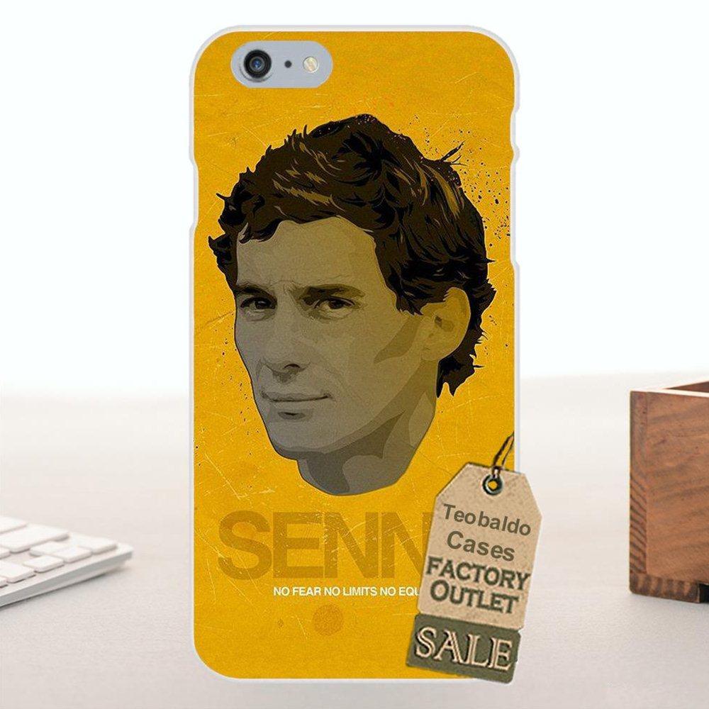 Teobaldo Ayrton Senna Racing Logo Soft Protector Cases For Galaxy