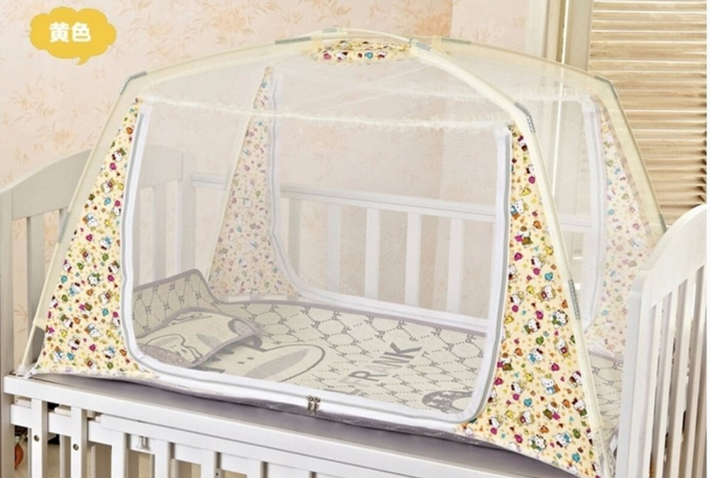 New Portable Crib Mosquito Net Toddler Bed Tent Netting Summer StyleOne Door Baby Mosquito Net Baby Toddler Bed Nets Ger Type-in Crib Netting from Mother ... & New Portable Crib Mosquito Net Toddler Bed Tent Netting Summer ...