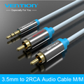 Vention 3.5mm RCA Audio Cable Jack to 2 RCA Aux Cable for Edifer Home Theater DVD VCD iPhone Headphones hifi rca cable 1m 2m