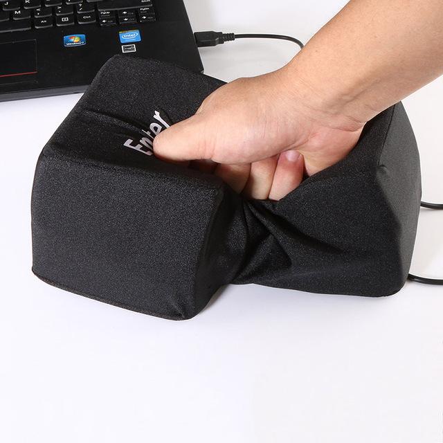 Hand Pillows USB Big Enter Key Computer Large Key