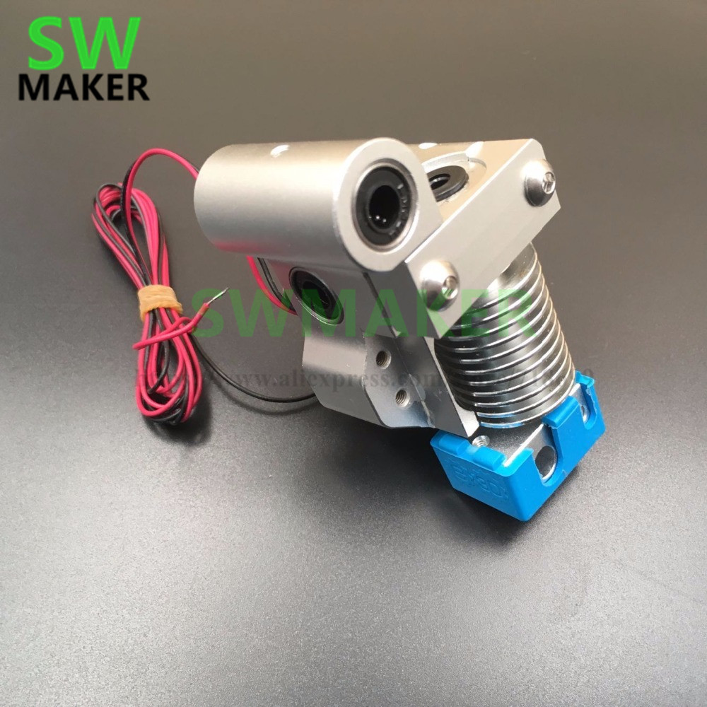 SWMAKER Ultimaker Original V6 hot end metal mount full assembly kit K type thermocouple Version With Silicone sock цена