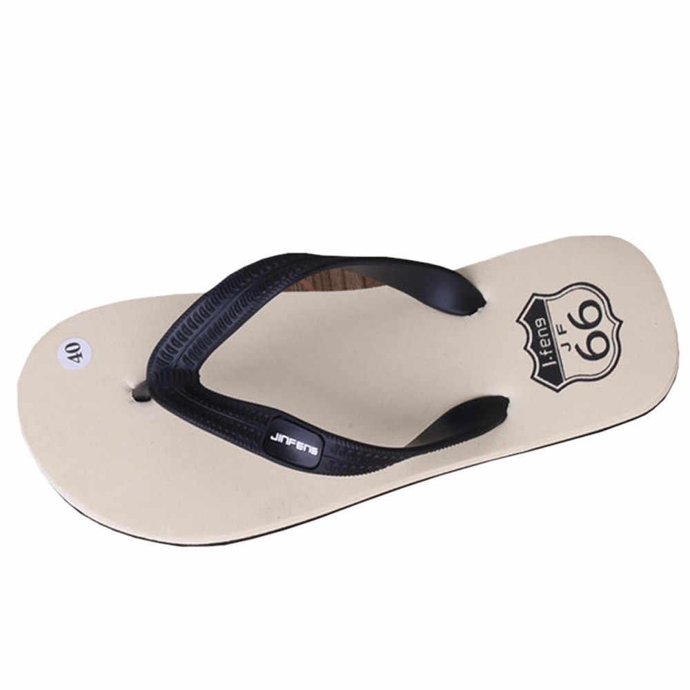 אנטי להחליק גברים קיץ נעלי סנדלי זכר נעל מקורה או חיצוני כפכפים לנשימה מזדמנים חוף נעליים