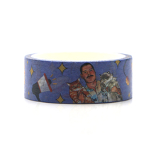 Freddie Mercury Washi Tape for Wraping Scrapbooking and Craft Sticky Adhesive Paper Masking Printed Patterns stickers E0614