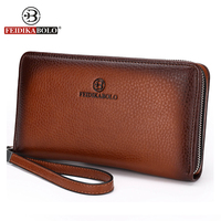 Famous Brand Monederos Carteras Mujer Luxury Male Genuine Cowhide Leather Top Purse Men S Clutch Wallets