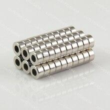 Неодимовые магниты кольцо 50 шт. 6×3 мм отверстие 3 мм N50 редкоземельных промышленных сильные магниты ndfeb