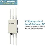 Высокая мощность всенаправленная беспроводной AP COMFAST WA900 802.11 ac/B/G/N 5 г и 2.4 Г Открытый Wi Fi крышка базовой станции 1750 м Wi Fi маршрутизаторы