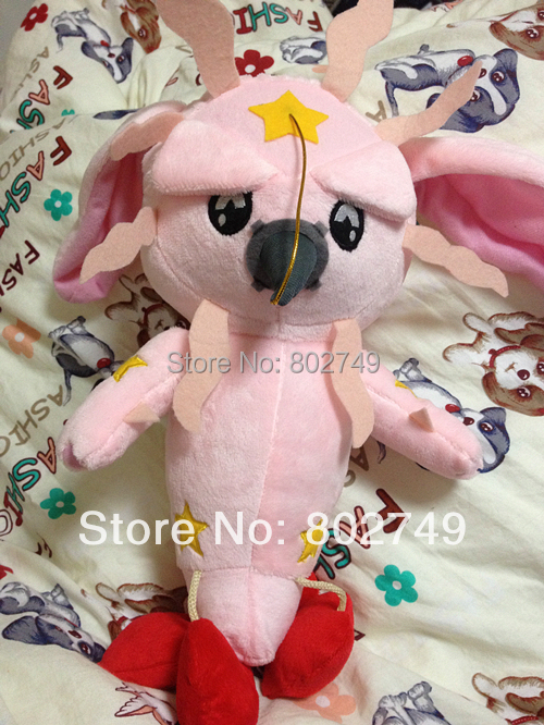 Japanese Anime Jojo's Bizarre Adventure (2012) Custom Plush Tusk Cos Props 30cm Act1 Tusk Plush image