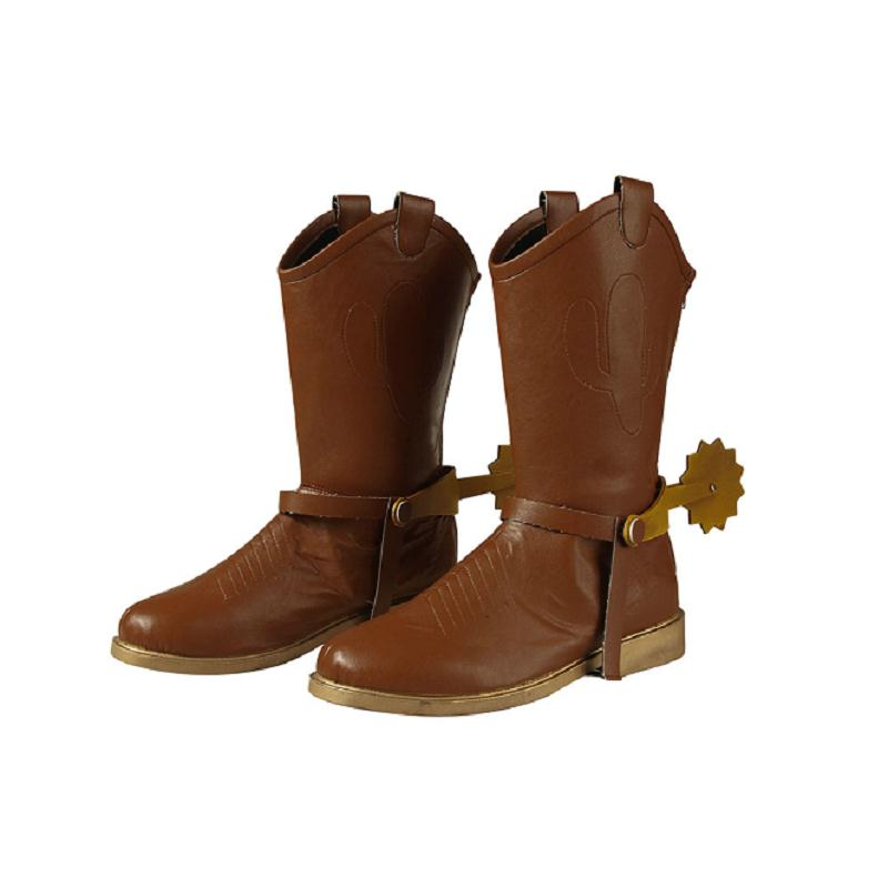 Halloween Shoes Cowboy Superhero Cosplay Mascot Adult Men Made Woody 12Off Us52 Party In Custom Accessories Boots toy Costume 79 Story 3qS54RLcAj
