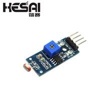 LM393 4pin оптический чувствительный светильник сопротивления обнаружения светочувствительный модуль датчика для arduino DIY Kit