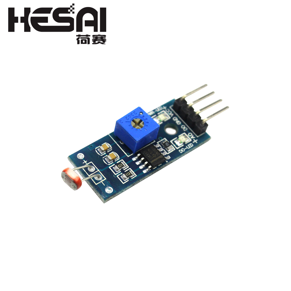 LM393 4pin Optical Sensitive Resistance Light Detection Photosensitive Sensor Module For Arduino DIY Kit