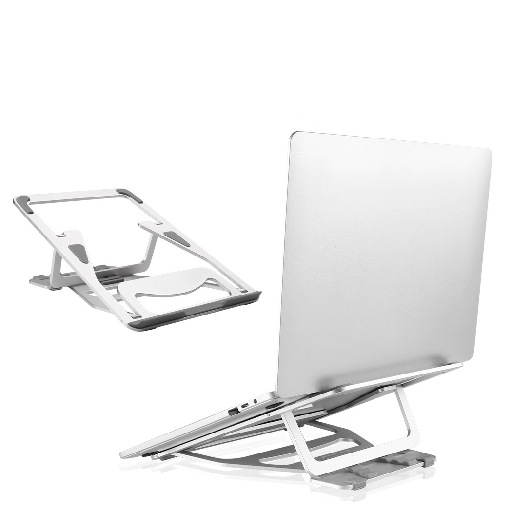 Universal Computer Laptop Stand For MacBook 12/13/15/17 Inch Aluminum Cooling Portable Adjustable Stand Laptop Riser