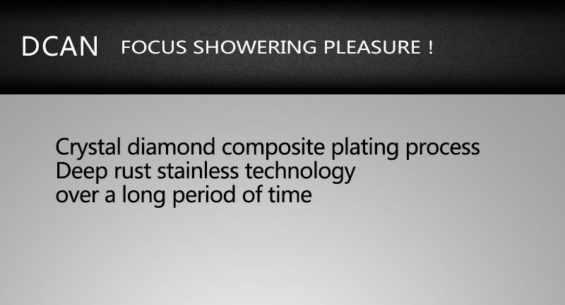 DCAN Bathroom Thermostatic Mixer Valve Brass Chrome Finish Shower Faucet Mixer Valve 3-4 Ways Faucet Bath Faucet Accessories (9)