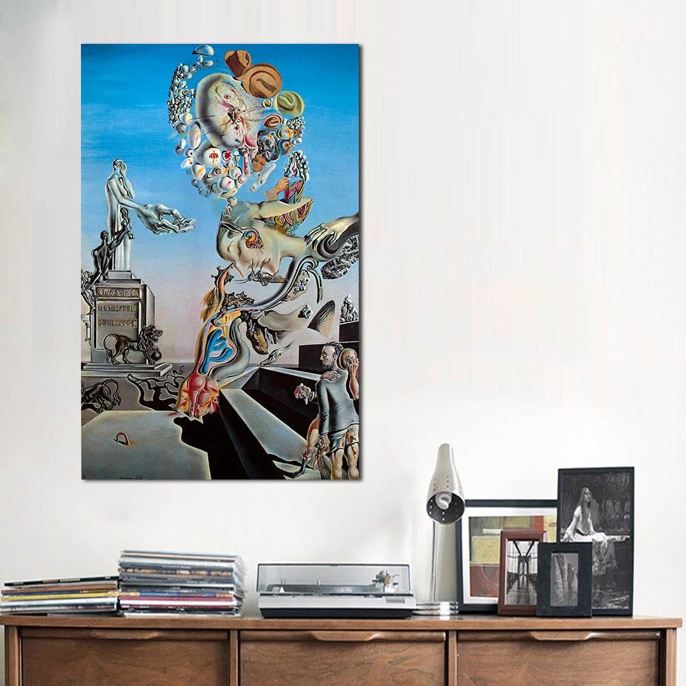 JQHYART Salvador Dali Moderne Wohnkultur Öl Malerei Wand Bilder Für ...