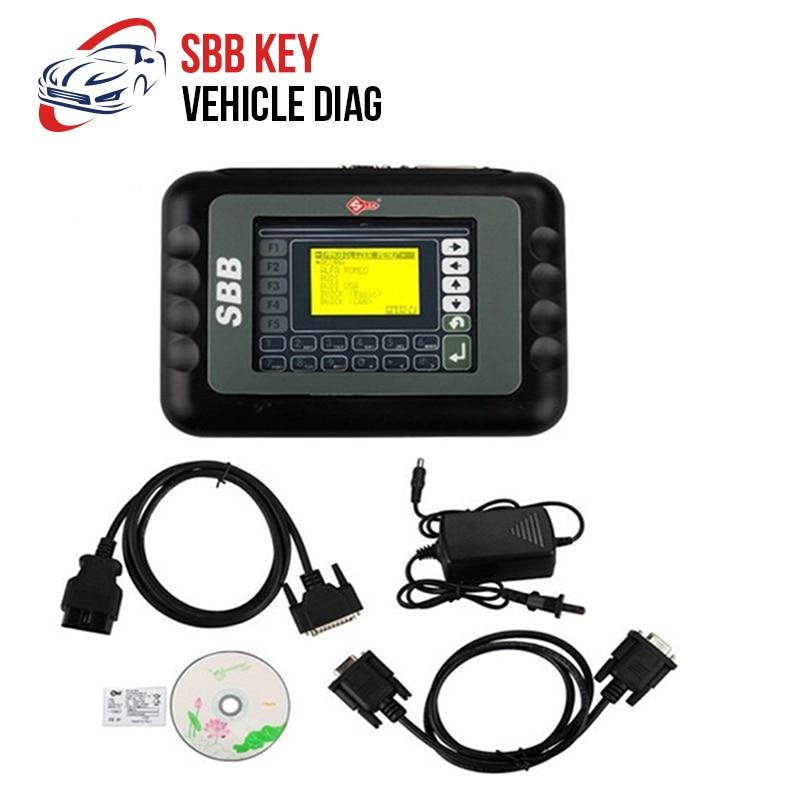 Latest SBB Key Programmer V33.01 No Token Limit Auto Key Programmer SBB V33.01 Immobilizer Programmer Support Most Brazil Car3