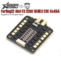 Airbot Furling32 4in1 F3 32bit BLHELI ESC 4x45A Supports 3 6S lipo input quadcopter frame parts